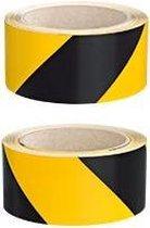 Set Signaaltape 3M geel/zwart
