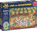 Jan van Haasteren Acrobaten Circus puzzel - 1000 stukjes