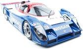 Kyosho Samurai Nissan R91CP #23 Blauw 1:12 - Nieuw