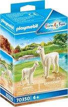 Playmobil Alpaca met baby