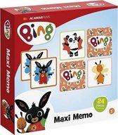 Bing maxi memo spel
