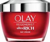Olay Regenerist Ultra Rich Dagcrème - Vitamine B3 Peptide en Sheaboter - 50ml - Droge Huid