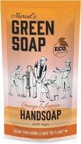 Marcel's green soap navulling sinaasappel jasmijn 500 ml