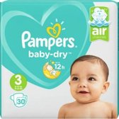 Pampers Baby Dry Luiers Maat 3 - 90 Stuks GIGA PACK