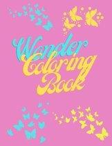 Wonder Coloring Book