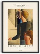 Oskar Schlemmer - Modern art Gallery - 50x70 cm - Art Poster - PSTR studio