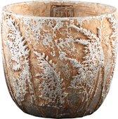 Ptmd weslyn goud cement pot graspatroon rond l