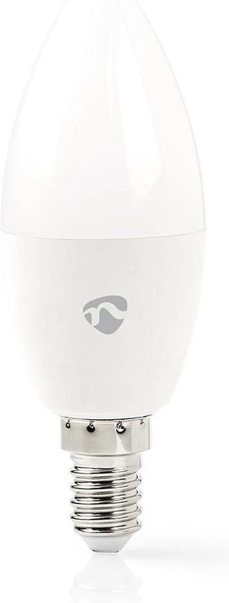 Dimbare Slimme Multi-colour Lamp   E14   350 lm   4.5 W   Wit / RGB / Warm Wit   2700 K   Smartphone app   Wi-Fi
