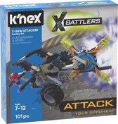 K'nex XBattlers X-Saw Attacker Building Set 101-delig