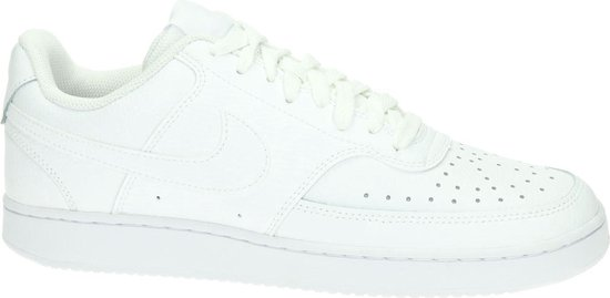Nike Court Vision Low Heren Sneakers - White/White-White - Maat 44