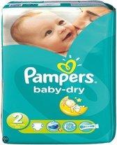 Pampers Baby luier Baby Dry Maat 2 - 116 stuks