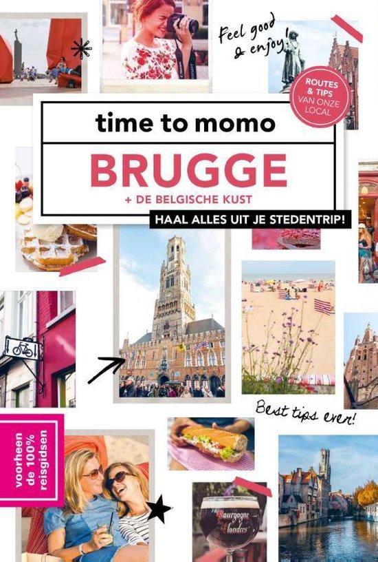 Boek cover time to momo Brugge + de Belgische kust van Manon Dekien (Paperback)