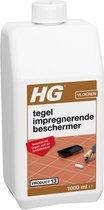 HG tegel impregnerende beschermer (HG product 13) - 1L - tegen het intrekken van vuil en vet