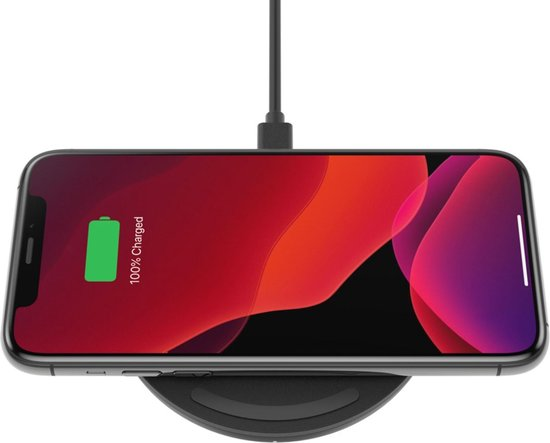 Belkin Boost-Up Qi - Wireless charger - Draadloze oplader - 10W - Zwart