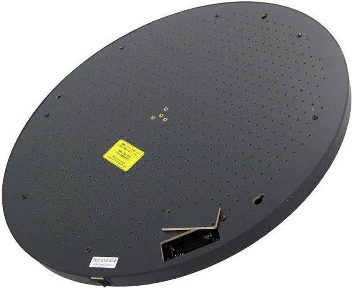 Granboard Achterbord Elektronisch Dartbord 56 Cm Hout Zwart