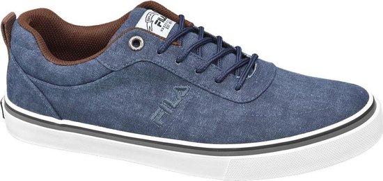bol.com | Fila Heren Blauwe canvas sneaker - Maat 41