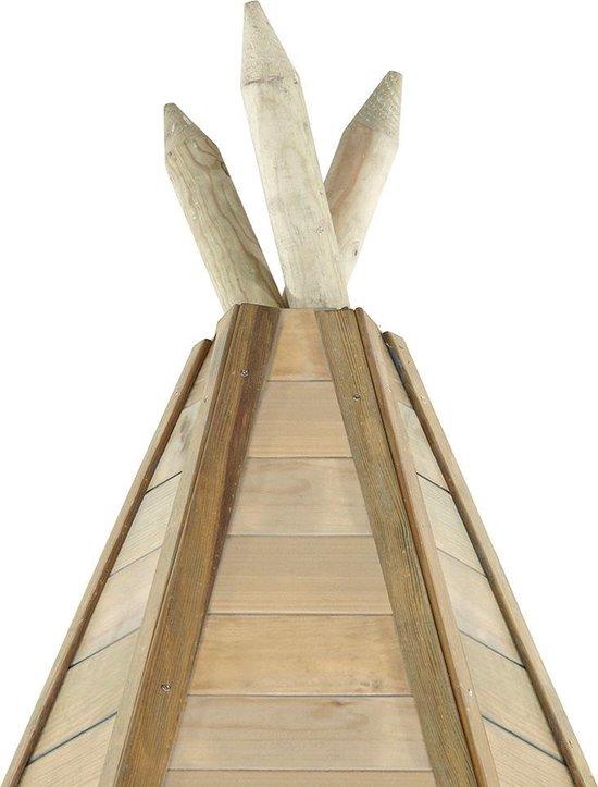 Plum Speelhuisje Tipi gemaakt van hout, 330 cm Tuinhuis