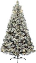 Kunstkerstboom Everlands LED Vancouver Pine Snowy 210 cm - 400 Lampjes