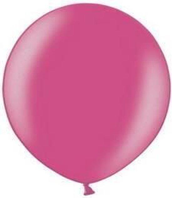 MEGA Topping ballon 90 cm Roze