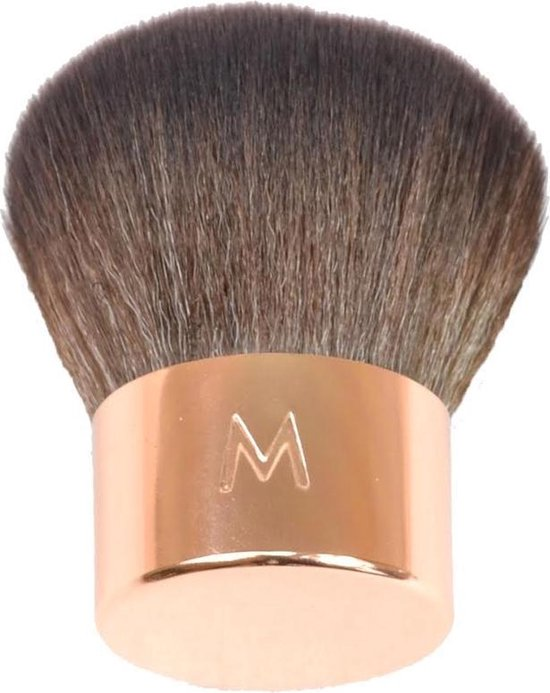 Maestro by Mari make-up kwast kabuki kwast rose goud - synthetisch - Maestro by Mari