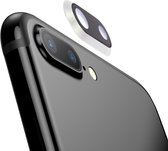 Let op type!! Rear Camera Lens Ring for iPhone 8 Plus (Silver)