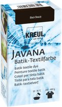 Javana Zwarte Batik Textile Dye - 70ml tie dye verf
