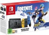 Nintendo Switch Console - Geel / Blauw - Nieuw model - Incl. Fortnite