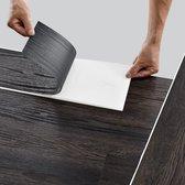 PVC laminaat zelfklevend set van 42 Dark wood wenge 5,85 m²