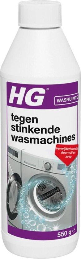HG stinkende wasmachine reiniger