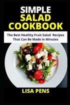 Simple Salad Cookbook