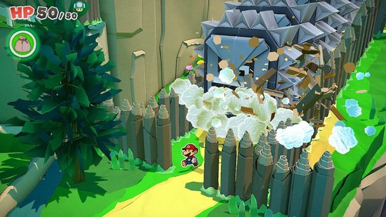 Paper Mario: The Origami King - Switch - Engelstalige hoes