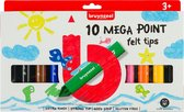 Bruynzeel Kids 10 mega viltstiften