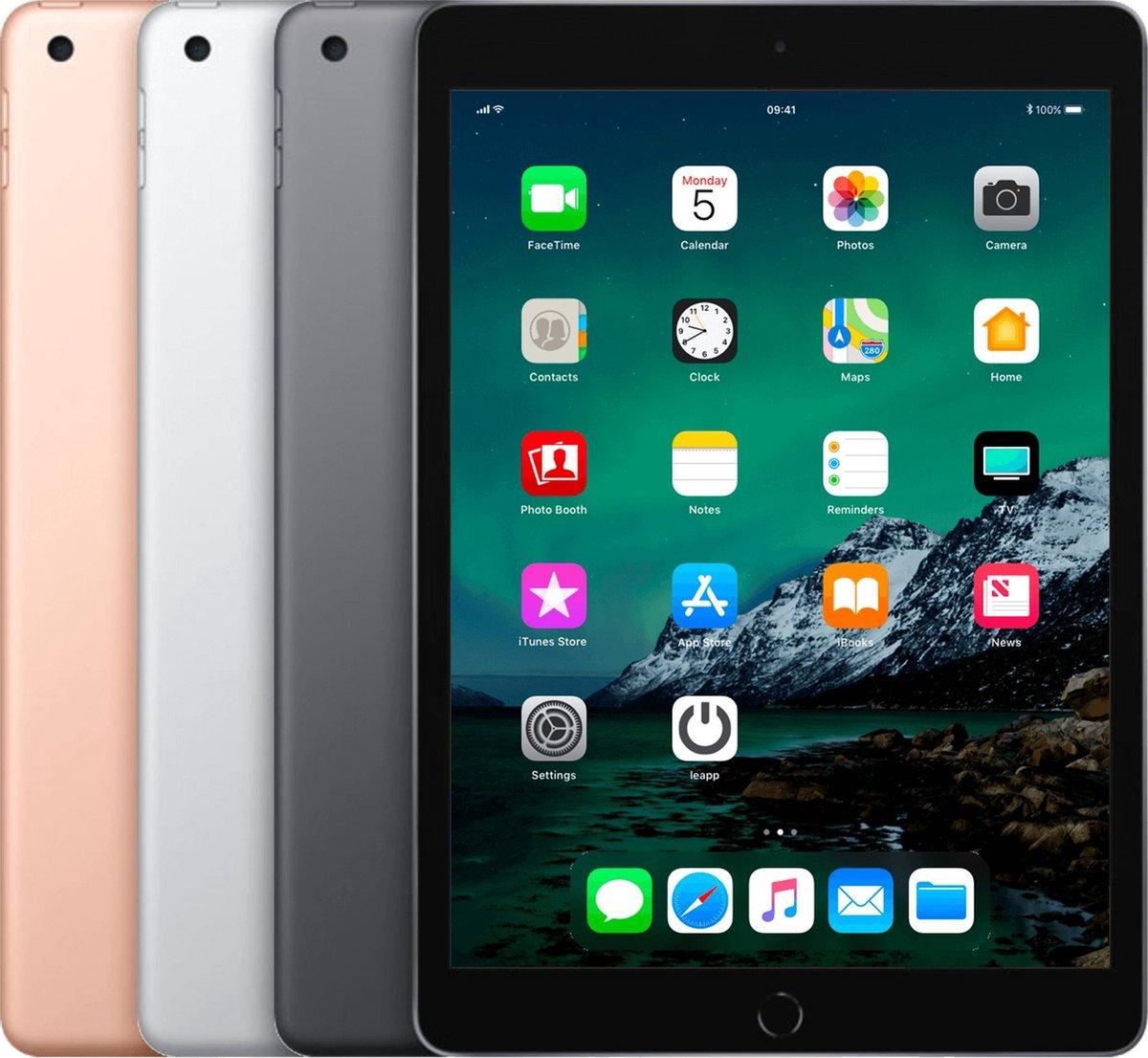 Apple iPad 2019 - 32GB - Wi-Fi + 4G - Zilver - A-grade