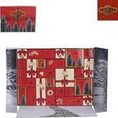 Luville - Adventskalender 24 pieces - Kersthuisjes & Kerstdorpen