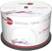 Primeon 2761206 DVD-R disc 4.7 GB 50 stuk(s) Spindel Bedrukbaar