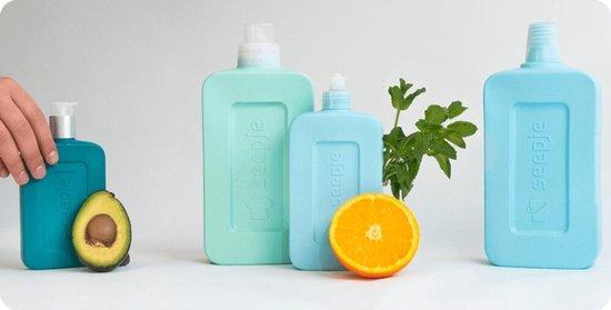 Seepje Vloeibaar Wasmiddel Vrij en blij Geur Wit 1,15 liter