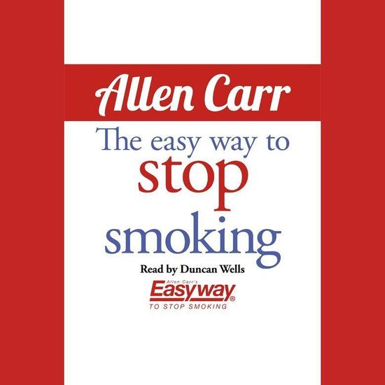 Boek cover Easy Way to Stop Smoking, The van Allen Carr (Onbekend)