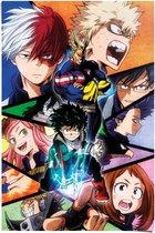 My Hero Academia  Japan - Manga - Superheld - Anime  - Poster 61 x 91.5 cm Papier