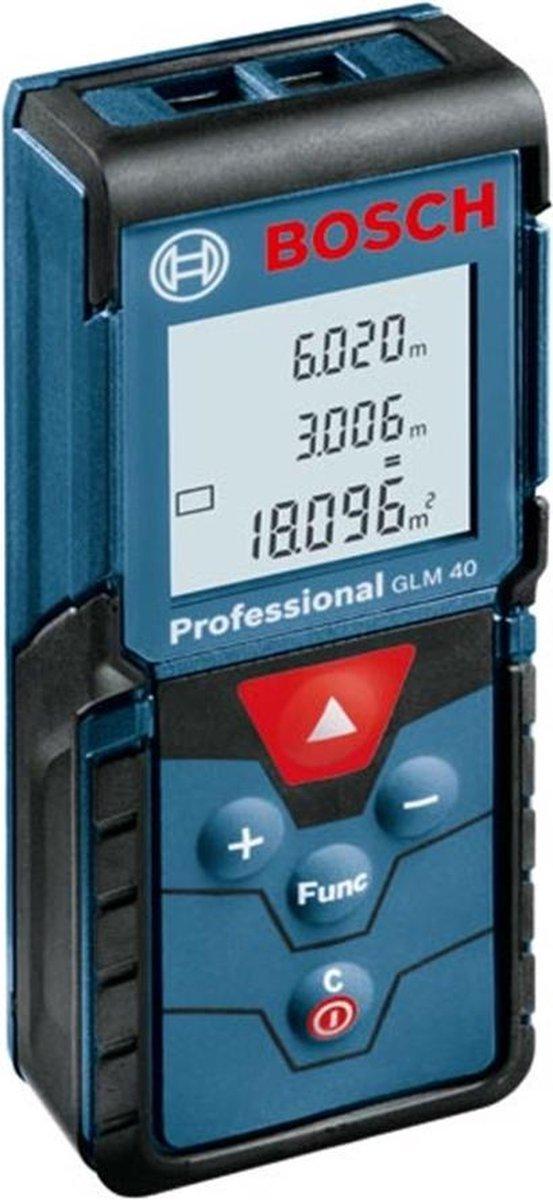 Bosch Professional GLM 40 - Afstandsmeter - Tot 40 meter - Verlichte display
