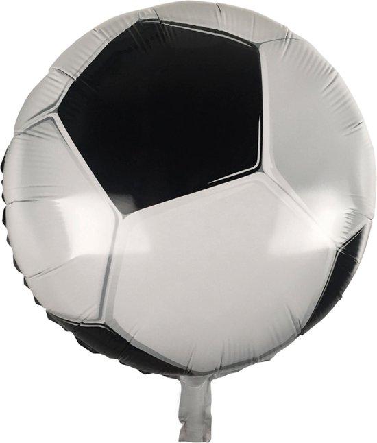 Boland - Decoratie > Ballonnen - Voetbal Helium Folieballon 45cm Dubbelzijdig
