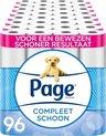 Page toiletpapier - Compleet Schoon wc papier - voordeelverpakking -  96 rollen
