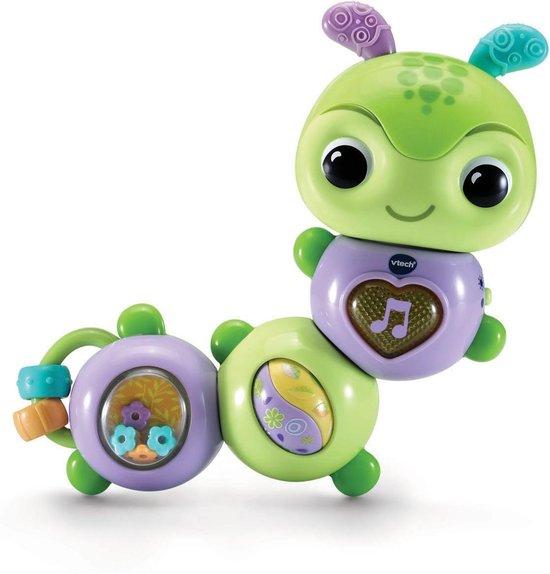 VTech - Baby Dierenvriendjes Draai & Wiebel Rupsje - Educatief Babyspeelgoed - 6 tot 24 maanden