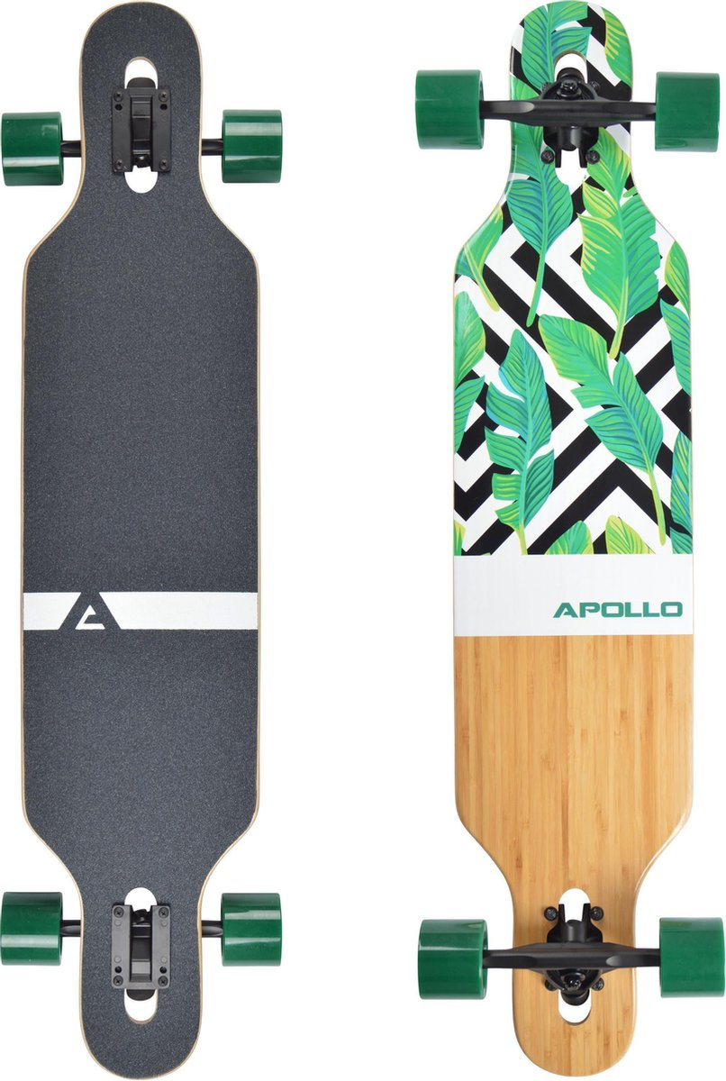 Apollo Twin Tip DT Longboard Flores - Bamboe