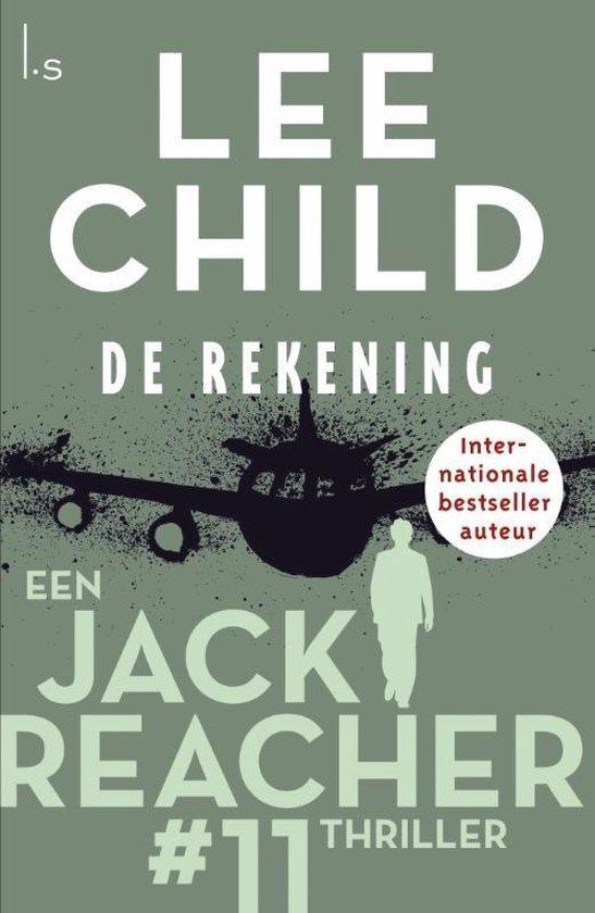 Omslag van Jack Reacher 11 -   De rekening
