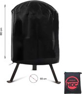 COVER UP HOC bbq hoes rond - 65x80 cm - Barbecue hoes - afdekhoes ronde bbq RED LABEL - Waterdichte bbq hoes