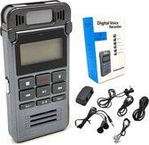 Trendfield Digitale Dictafoon Voice Recorder 8GB Audio Opname Spraak Recorder met Display