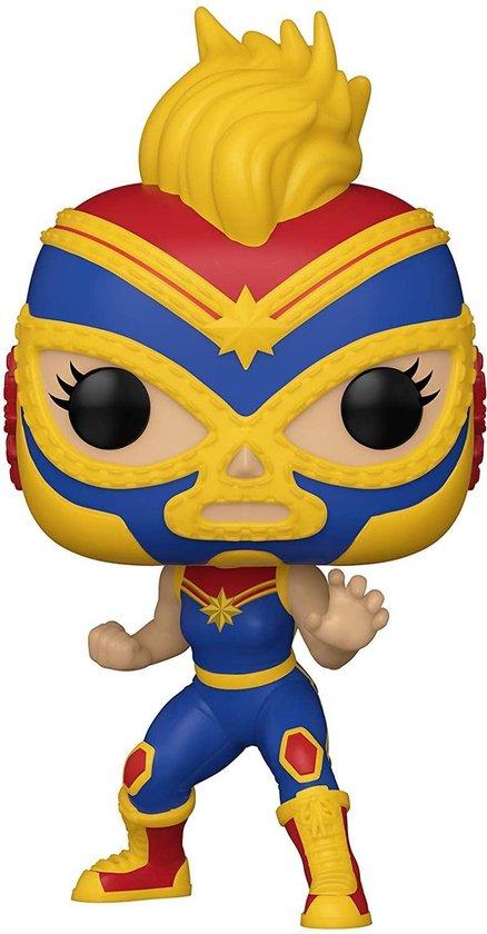 Pop! Marvel Lucha Libre Captain Marvel