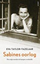 Boek cover Sabines oorlog van Eva Taylor-Tazelaar (Onbekend)