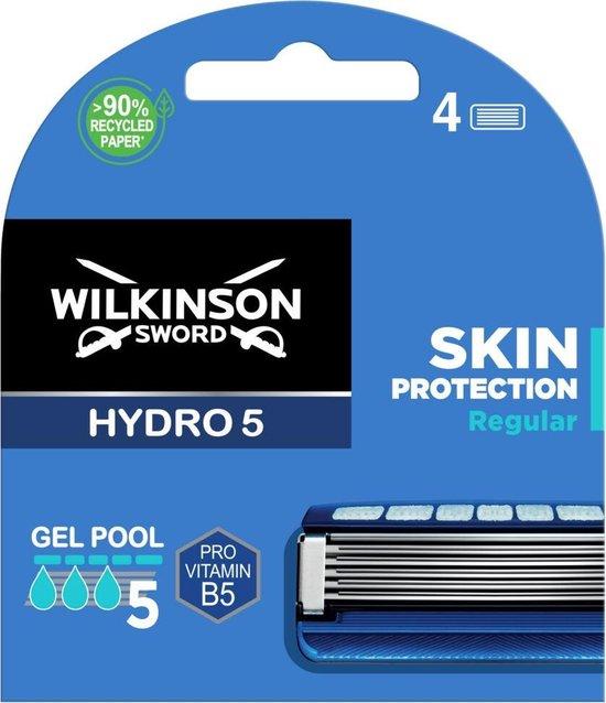 Wilkinson Men Scheermesjes Hydro 5 Skin Protection 4 stuks