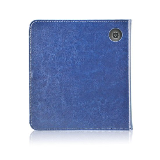 """Goodline® - Tolino Vision 5 (7"""") Stand Cover / Sleepcover - Donkerblauw"""